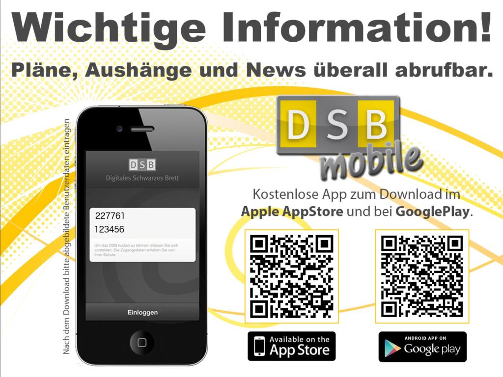DSBmobile App QR
