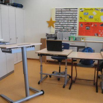 Klassenraum mit PC 1