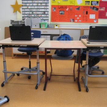 Klassenraum mit PC 2